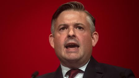 Jon Ashworth, Shadow Secretary of State for Health, delivers his speech at the Labour Party Conferen
