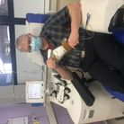 Chris Rubery hasbecome the highest donor of blood plasma in the South West.