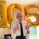 David Smith from Fenstanton celebrated his 105th birthday by taking part in a Facebook Live.