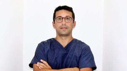 Italian spinal surgeon Dr Andrea Luca