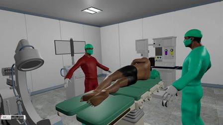 The virtual spinal surgery training
