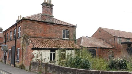 """This vacant building on Station Road in Hoveton has been described as an """"eyesore"""""""