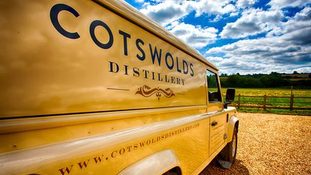 Cotswolds Distillery van