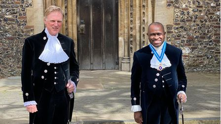 Hertfordshire High Sheriff Lionel Wallace