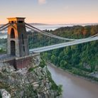 Bristol's Clifton Suspension Bridge is one of the region's best-known landmarks.