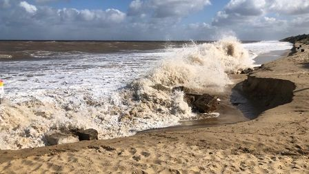 Easter erosion at Hemsby
