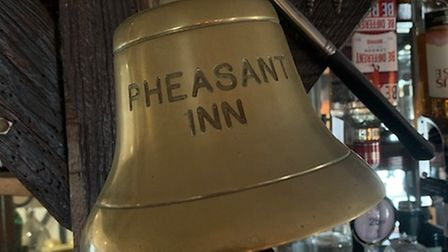 Jenna and Stuart Johnson have taken the helm at The Pheasant in Great Chishill. Picture: Jenna Johnson