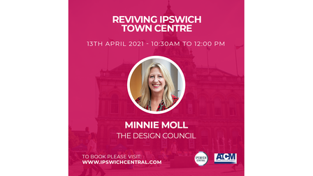 Minnie Moll from the Design Councilis one of the speakers at theReviving Ipswich Town Centre conference