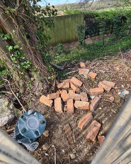 A newly refurbished garage site in Stevenage's Valley Way has been subjectedto damage and fly-tipping