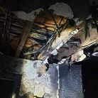 Fire Damage in Camille'smaisonette that caught fire on Fairfax Court in St Neots.