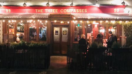 The Three Compasses in Dalston.