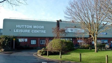 Hutton Moor Leisure Centre.