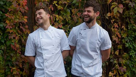 Pastore Pasta founders Jake White and Oliver Wadham.