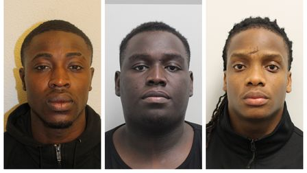 The three Newham men jailed after two Hackney women were raped and robbed at home.