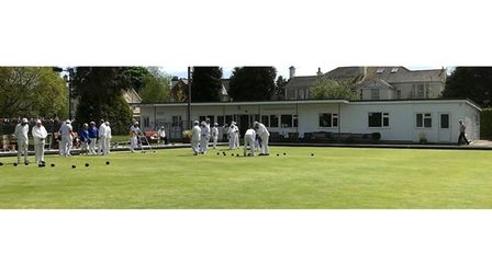 Flashback to day's play at bowls club