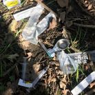 Syringes and spoons littering Whormerley Wood in Stevenage
