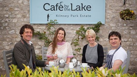 The team at Kilnsey Cafe by the Lake are looking forward to welcoming visitors