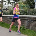 Heather Hann of St Albans Striders