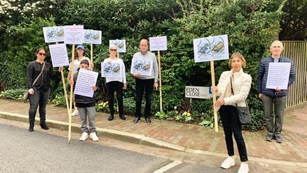 A number of neighbours complain over a West Heath Road housing scheme