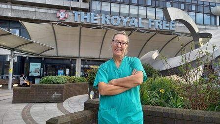 Jennifer Solomon returned to help old nursing colleagues on the Royal Free's Covid wards