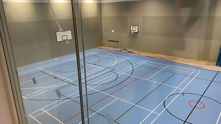 The new sports hall