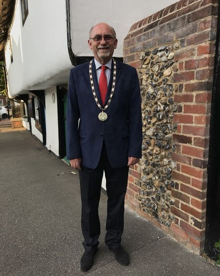 Councillor Richard Porch, deputy mayor and chair of planning at Saffron Walden Town Council