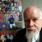 Previously unreleased pictures showing artist Sir Peter Blake with his revamped iconic Sgt Pepper al