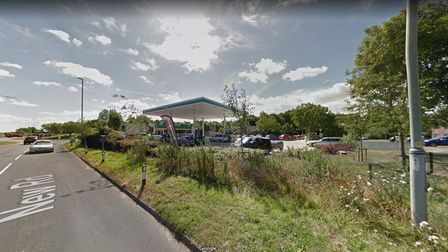 The BP Garage on New Road, Acle.