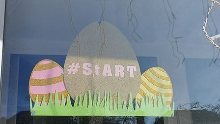 St Albans Rainbow Trail's Easter egg hunt was in aid of Home-Start Herts