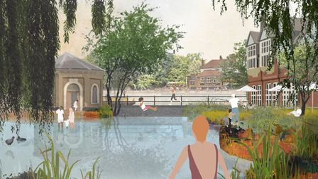 The East London Waterworks Park envisioned by architect Kirsty Badenoch
