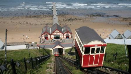 Saltburn By The Sea cliff lift
