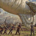 A Balloon Site, Coventry, 1943 by Laura Knight