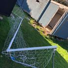 Rickling Green Football Pitch vandalism
