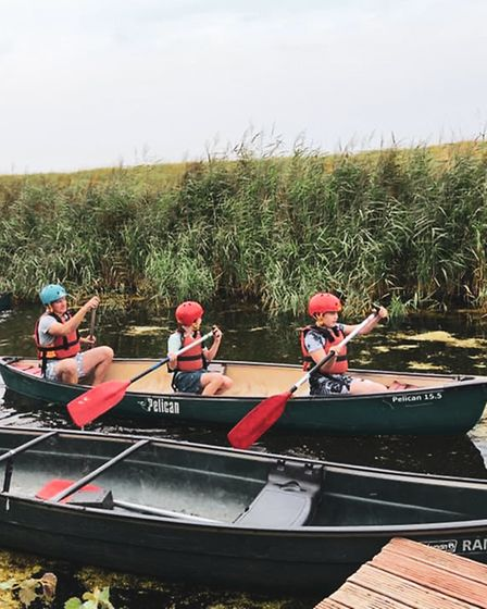 Mendip Activity Centre runs a plethora of outdoor activities including canoeing.
