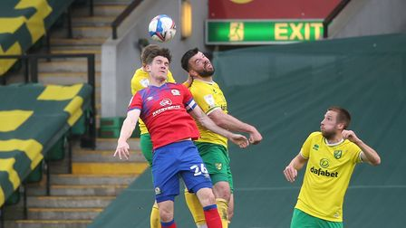 Grant Hanley is leading from the front in Norwich City's push for the Premier League
