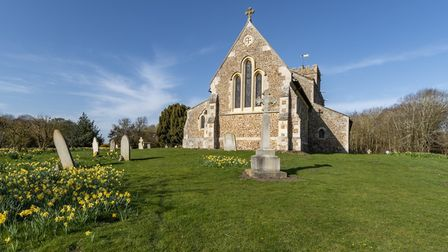 This is St Deny's Church in Little Barford.