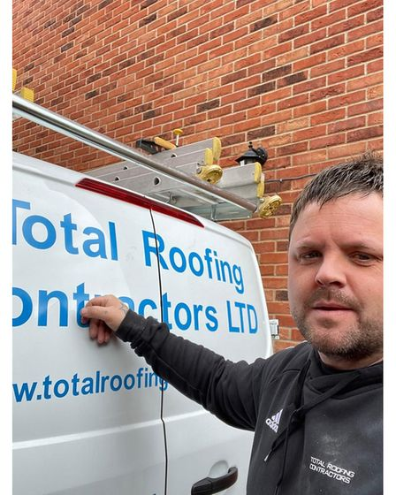 Chris Blow from St Albans-based Total Roofing Contractors