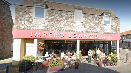 Impero Lounge in Portishead High Street.