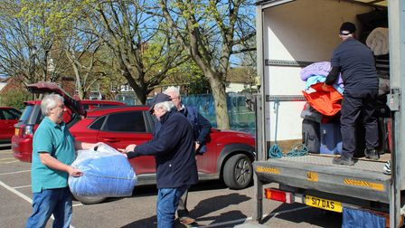 Saffron Walden Rotary Club filled a van within hours with items for Fiji