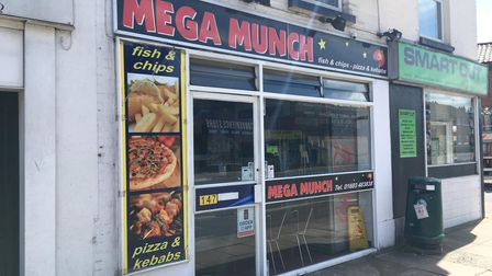 Norwich City Council has received a complaint about Mega Munch in relation to food poisoning.