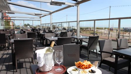 The Terrace restaurant at the Imperial Hotel, Great Yarmouth