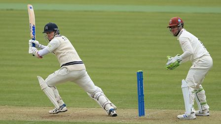 Middlesex batsman Sam Robson during the LV= Insurance County Championship match against Somerset at Lord's