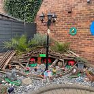 A family built a fairy garden in Royston for their grandchildren during lockdown
