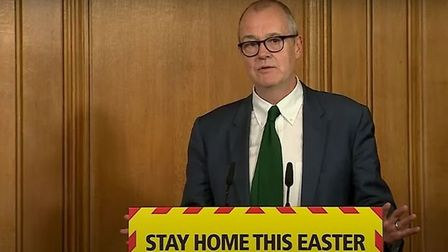 "Sir Patrick Vallance admits ""lots of things"" could have been done differently during the outbreak, i"
