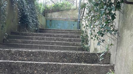 Regular police patrols are taking place on the stairs running between Stan Petersen Close and Beatrice Road in Thorpe Hamlet