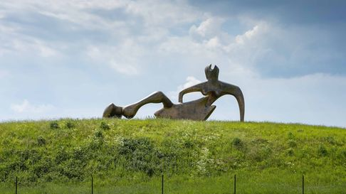 The Henry Moore Gardens have reopened to visitors