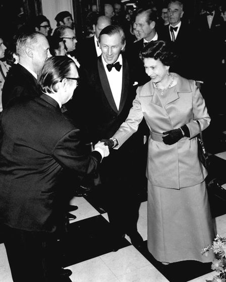 Prince Philip attended the old Odeon Theatre in Golders Green with the Queen in 1972