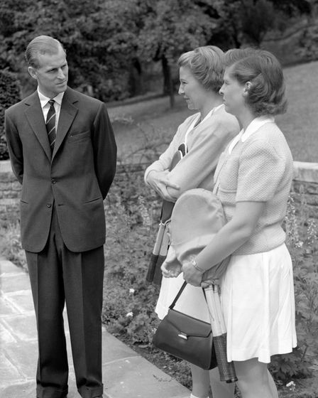 The Duke of Edinburgh visited Highgate in 1949 to attend Lady Crossfield's pre-Wimbledon garden party