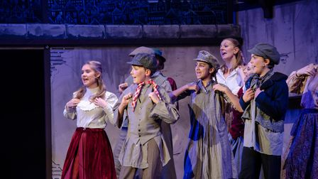 Oliver musical performed by SWMTC
