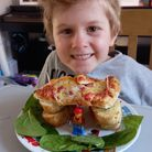 Honiton Beavers made their own edible lodge